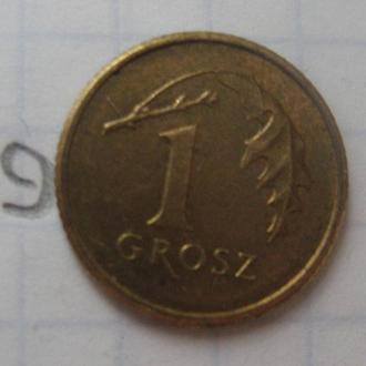 ПОЛЬША, 1 грош 2009 г.