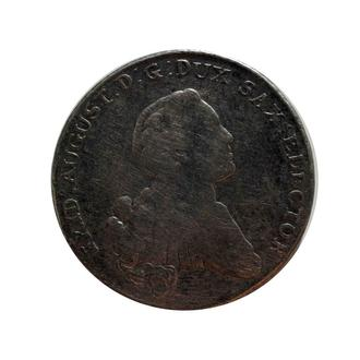 Талер 1767 р, Саксонія