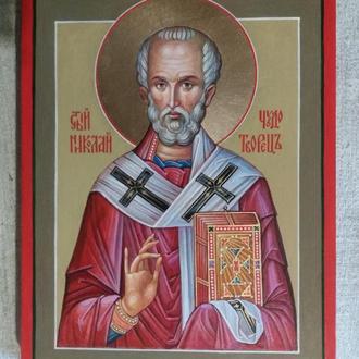 Икона Николай Чудотворец, епископ Мир Ликийских. ( Никола Мирликийский, Николай Угодник ).