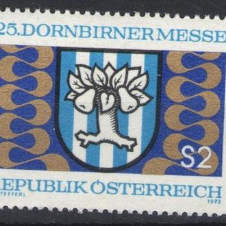 Австрия - дерево 1973 - Michel Nr. 1417 **