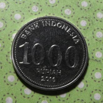 Индонезия 2016 год монета 1000 рупий !