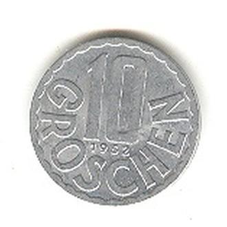 10 грошен 1952