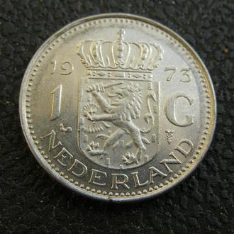 1 гульден 1973 Нидерланды