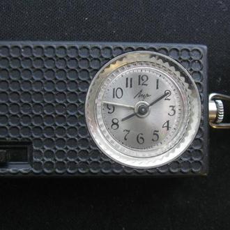 Часы Луч будильник дорожный СССР