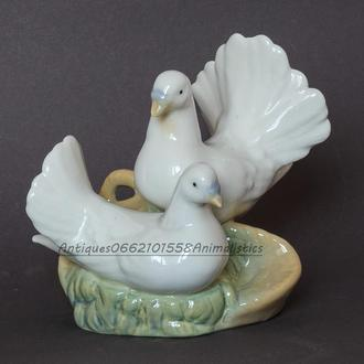 Фарфоровая статуэтка фарфор Пара голубей MIQUEL REQUENA Испания