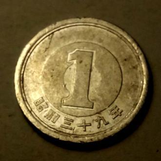 1 йена Япония !!! а2