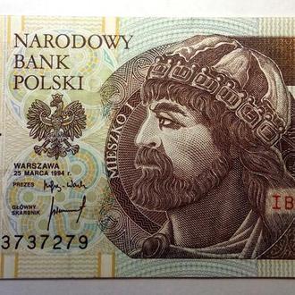 10 злотых 1994 года Польша UNC