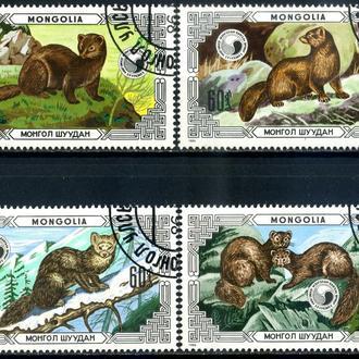 Монголия. Животные (серия) 1986 г.