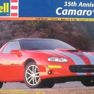 """Сборная модель автомобиля Chevrolet  '97 Camaro  """"30th Anniversary""""  1:25 Revell"""