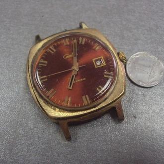 часы наручные циферблат механизм слава позолота ау20 победителю соцсоревнований цк ку №112