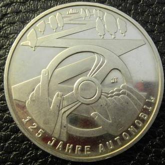 10 євро 2011 Німеччина 125 років автомобілям