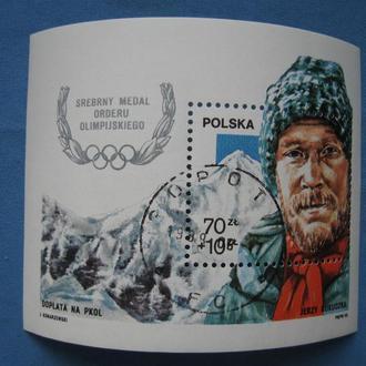 блок Польша 1988 олимпиада