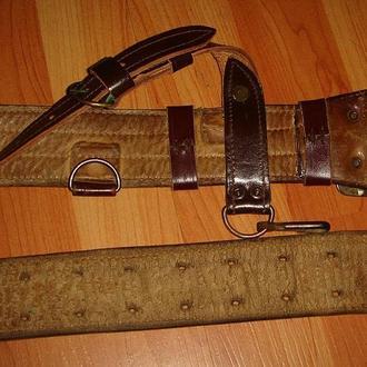 Офицерский поясной  ремень армии Чехословакии
