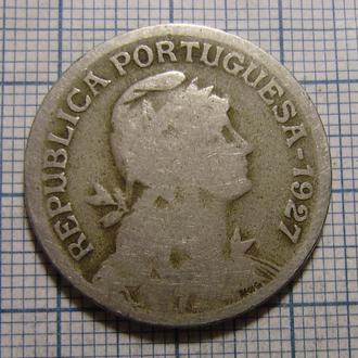 Португалия, 1 эскудо 1927 г.