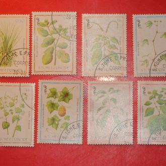 марки Растения 1983 г Сан Томе и Принсипи