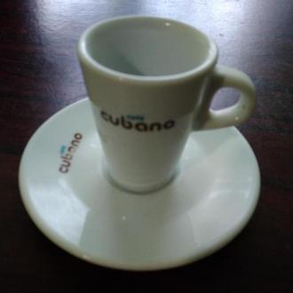 17..CUBANO..Чашка +блюдечко ..колекційні