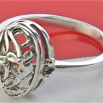 Кольцо перстень серебро СССР 875 проба 2.36 гр 17 размер