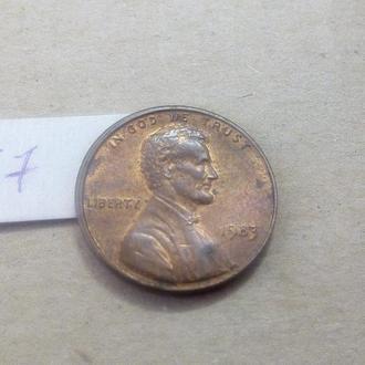 1 цент 1983 США