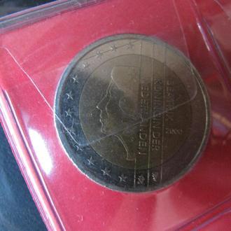 2 Евро Нидерланды 2000