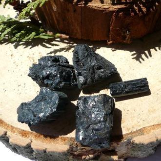 Черный Турмалин Шерл 26 грамм 5 шт