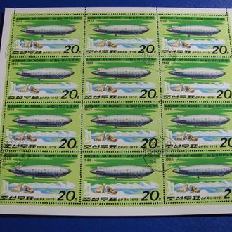 Б-3 Транспорт Авіація Корея 1979 Лист