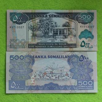 Сомалиленд 500 шиллингов 2011   UNC