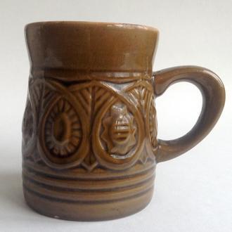 Кружка Кварта. Керамика, поливная глазурь.