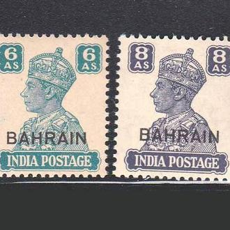 GB  Бхрейн  1942 г  MNH - надпечатка
