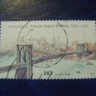 Германия. Johann август Rцbling - Бруклинский Мост