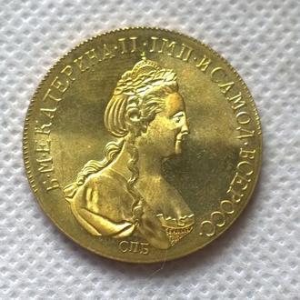 10 рублей 1786 год Екатерина
