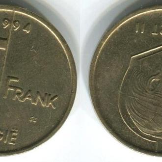 Бельгия 5 франков 1994 г.