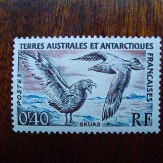 Французская Антарктида.1959г. Фауна. Птицы. MH