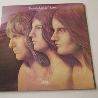 """Emerson, Lake & Palmer """"Trilogy""""  (UK) 1st Press  EX"""