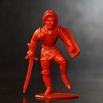 рыцарь( Domplast) ФРГ 54мм оригинал из 60х