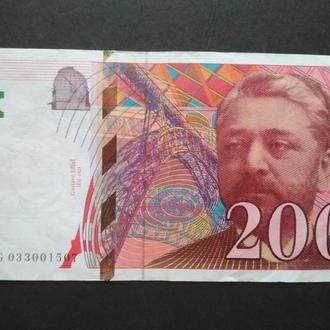 200 Deux Cents Francs 1996