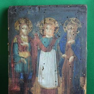 Икона  трое Святых  №2