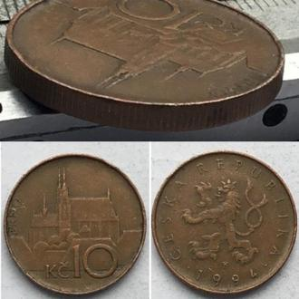 Чехия 10 крон, 1994г. период Чешская Республика (1993 - 2018)