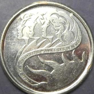 10 центів 2001 P Канада - Рік Волонтерів
