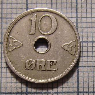 Норвегия, 10 эре 1924 г.