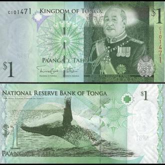 ТОНГА 1 паанга 2009(14)г UNC