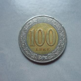 Албания 100 леков 2000 биметалл