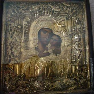 Икона - Казанская,примерно 19х готов
