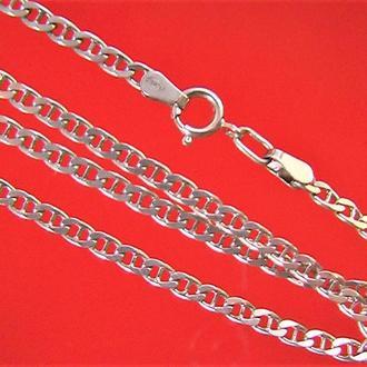 Цепочка серебро 925 пр 8,96 грамма длина 62,5 см.