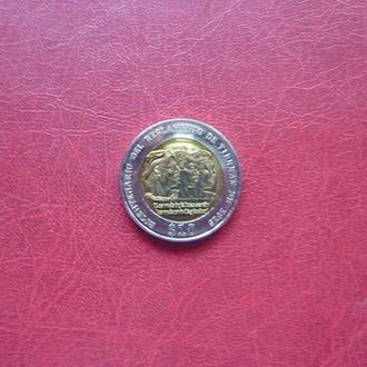 Уругвай 10 песо 2015 UNC