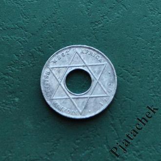 Британская Западная Африка 1/10 пенни 1908 г. Эдуард VII №2