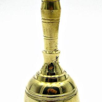 Колокольчик с ручкой бронза
