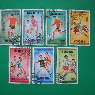 Монголия 1986 Футбол