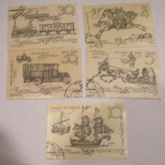 История отечественной почты 1987