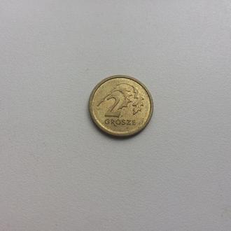 Польша 2 гроша 2015