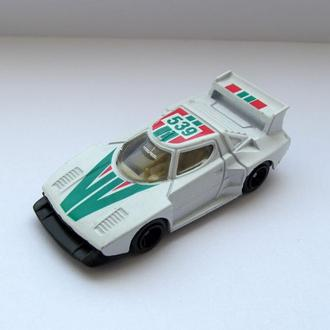 Lancia Stratos RALLY #539  модель 1:64 made in Hong Kong 1980-90-е